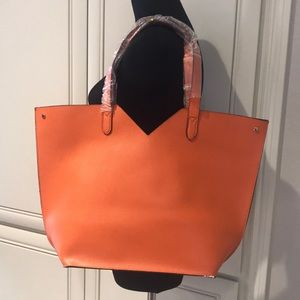 Neiman Marcus Tote Bag Orange